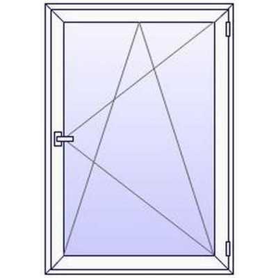 Fenêtres PVC ALUPLAST 1 vantail sur mesures (à partir de)