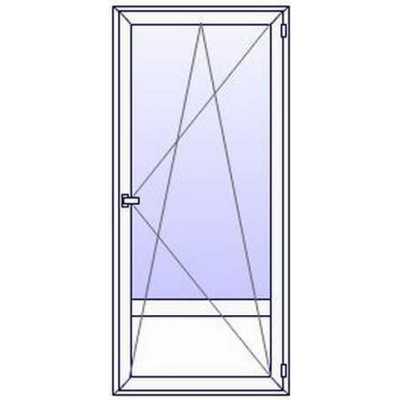 Porte fenetre PVC 1 vantail + plein bas (à partir de)